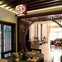 中式现代餐厅4727