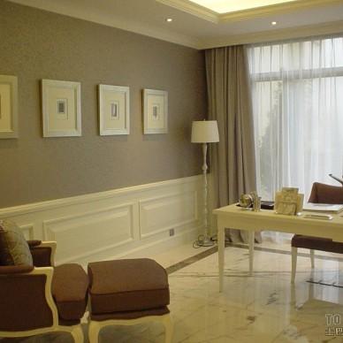 欧式现代书房装修效果图大全2012图片