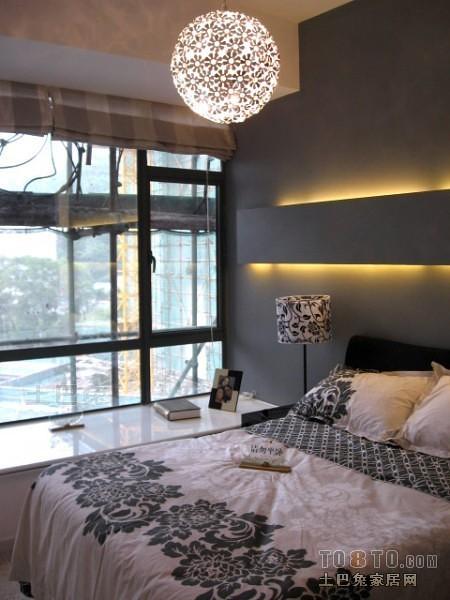 现代风格卧室2099