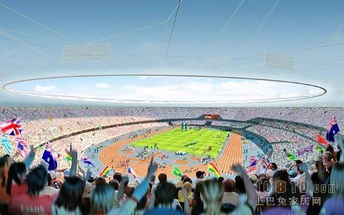 足球场设计效果图欣赏