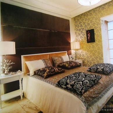 欧式现代卧室17077