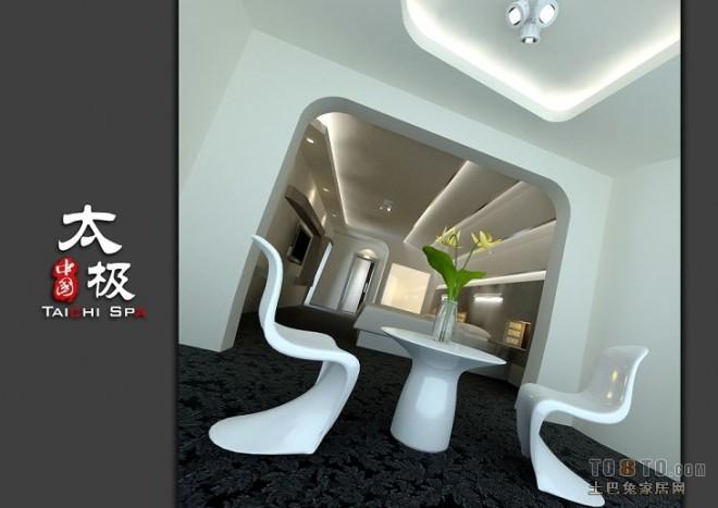 462F-3F套房超现代卧室倾斜角度