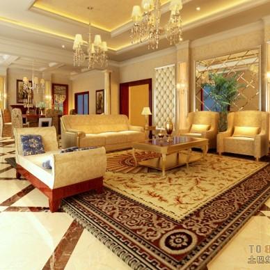 欧式现代客厅87280