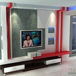 电视背景墙 方案三