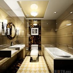 欧式现代卫浴134753