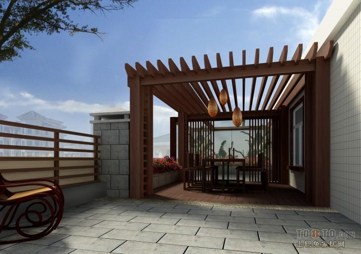 楼顶彩钢房效果图_楼顶绿化装修图片欣赏 – 设计本装修效果图