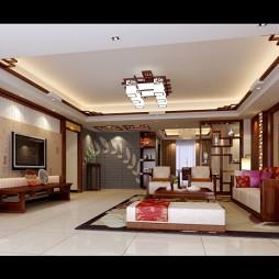 复件 江南新城19栋B梯客厅表现