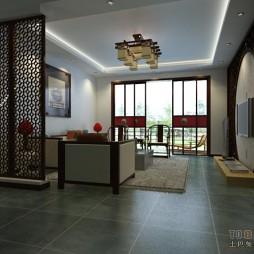中式客厅角度1