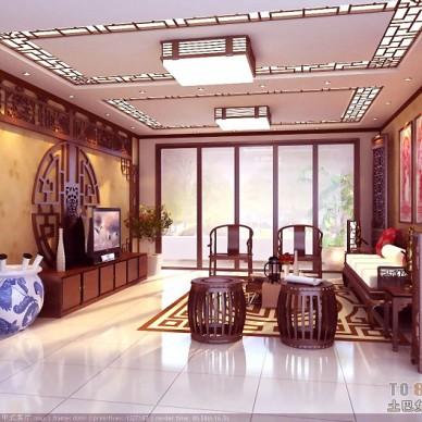 1中式客厅