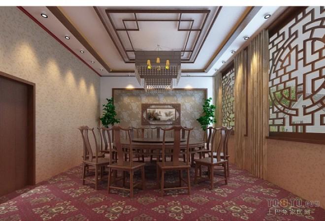 中式酒店包间03