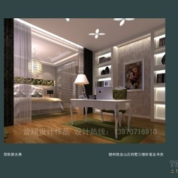 赣州隐龙山庄别墅三楼卧室及书房(8)