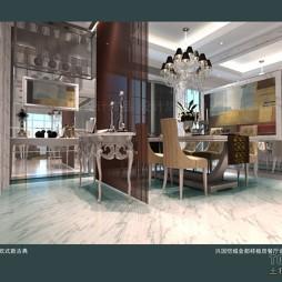 兴国恺城金都样板房餐厅设计图(12)