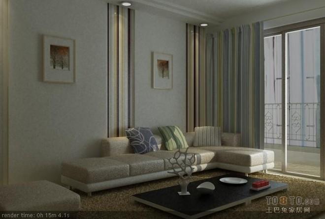 现代风格客厅369087