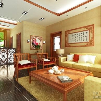 中式古典客厅372977