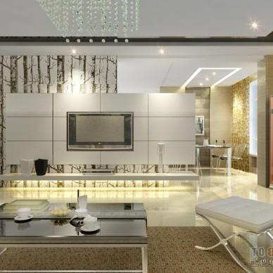 现代风格客厅392853