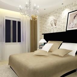 现代风格卧室408543