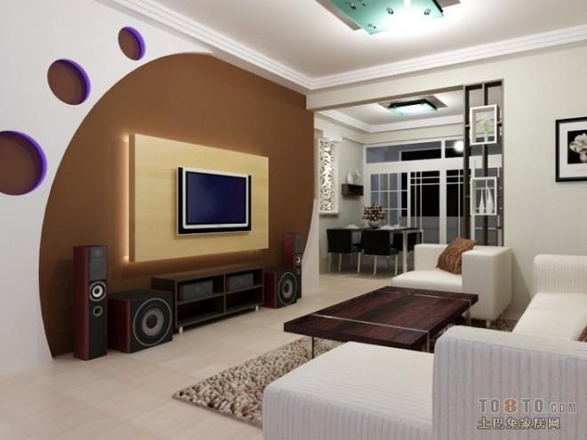 现代风格客厅408538