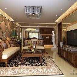 欧式现代客厅418561