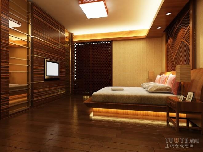 偏中式老总卧室