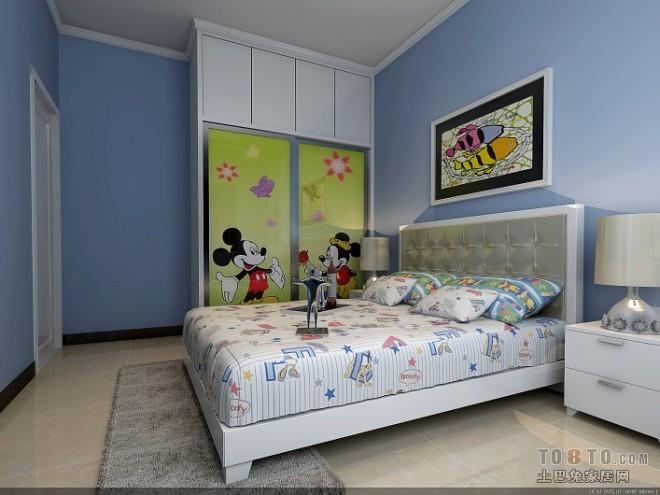 交换空间儿童房装修设计效果图
