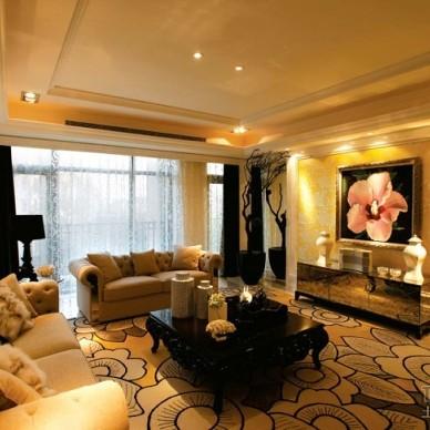 欧式现代客厅456581