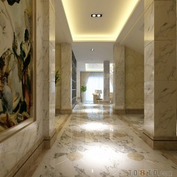 走廊实景模拟图-1