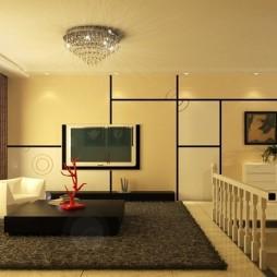简约风格客厅568359
