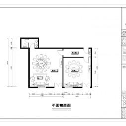 酒店平面施工图