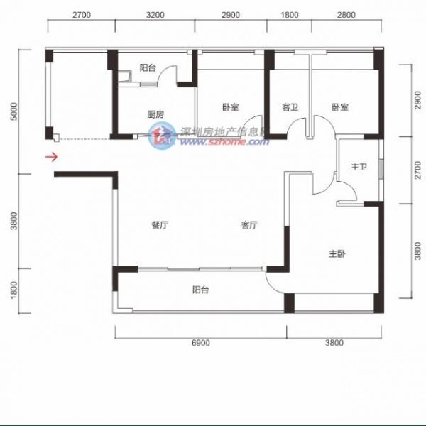 客厅和餐厅如何安排