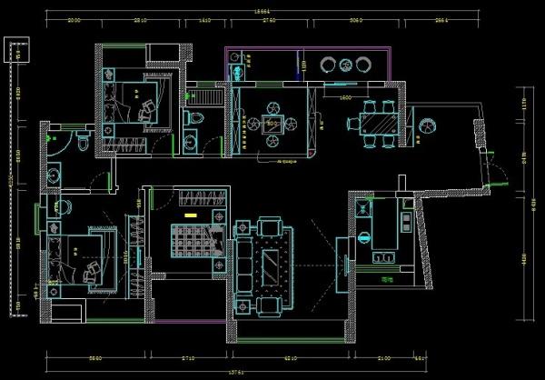 134m²房子整体户型改造建议