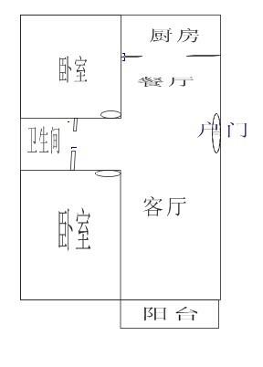 请教设计大师,两房两厅如何改为三房一厅