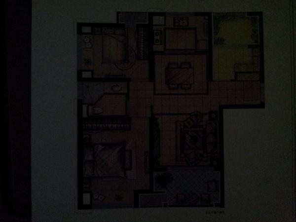 房型入户门对厕所门,卧室门对卧室门,怎么解决