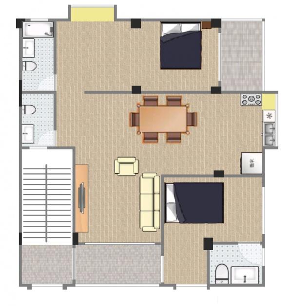 怎样把客厅跟餐厅隔断设计的好看?