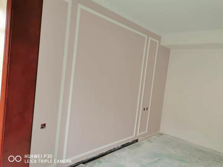 卧室床头多乐士裸粉薄纱,衣柜是欧派温莎公爵系列酒红色,搭配什么颜色床和窗帘好看啊