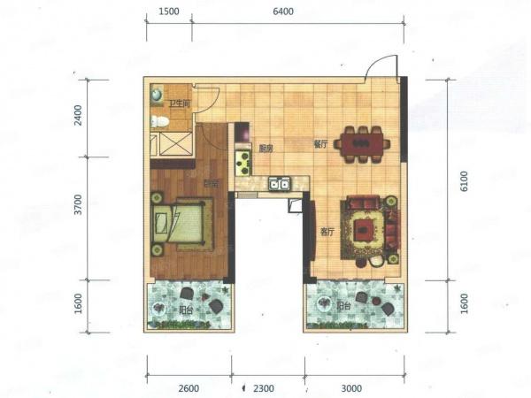 改两房 合理利用空间