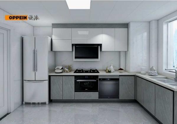 橱柜柜体装嵌入式蒸烤箱和洗碗机,橱柜面积怎么算