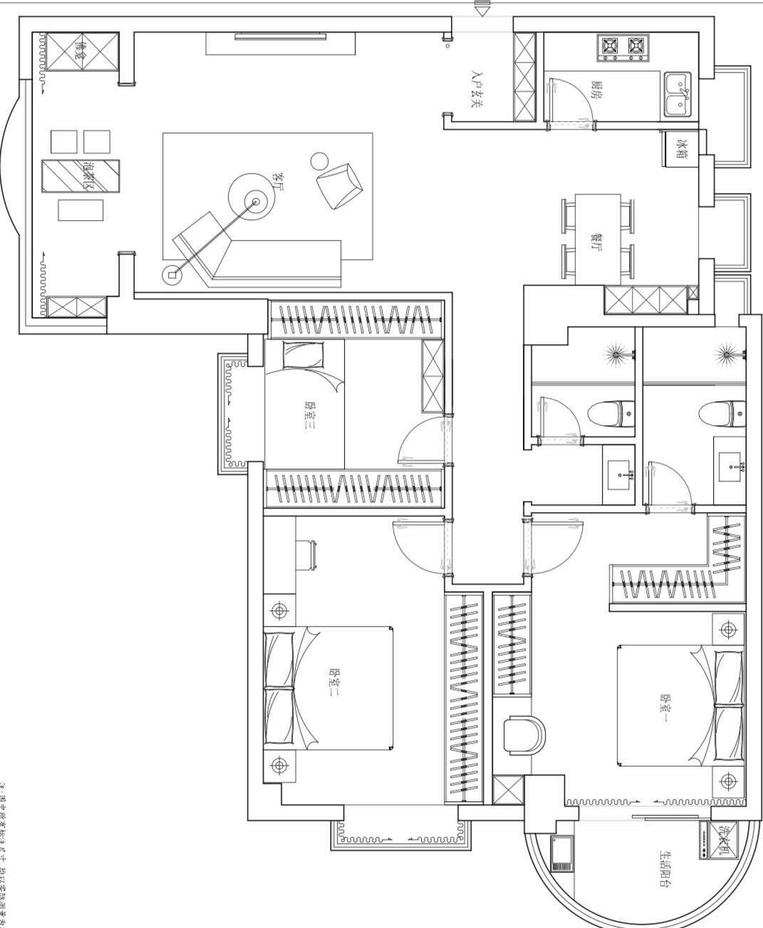家装平面方案