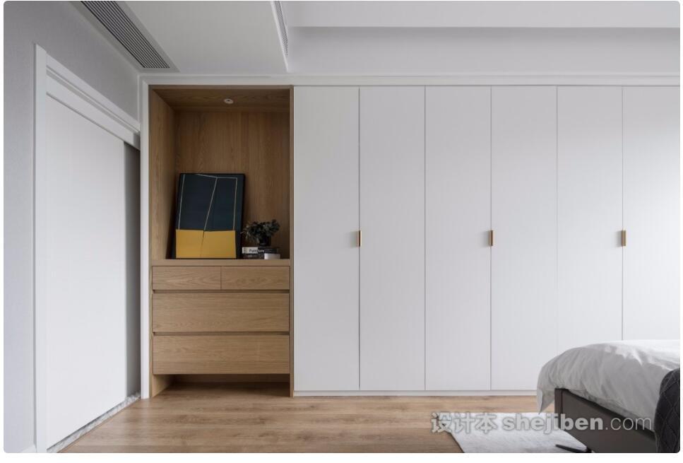 请问这个柜子的木纹是什么颜色