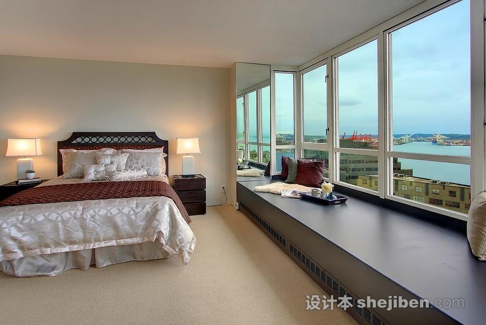 飘窗卧室设计