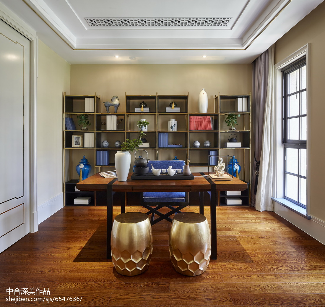 中式書房設計與風水知識