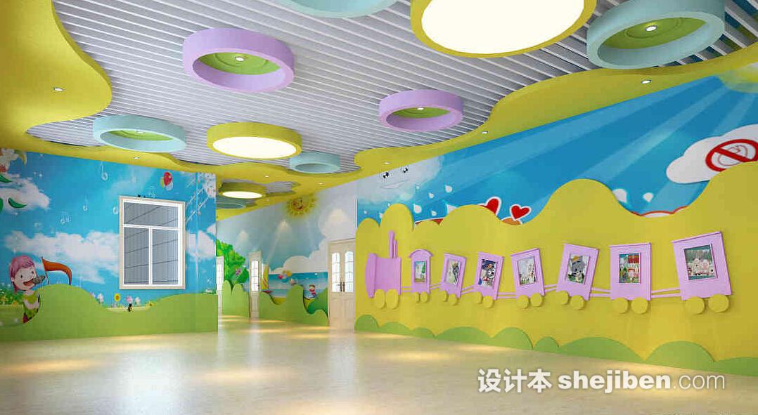 幼兒園墻面設計