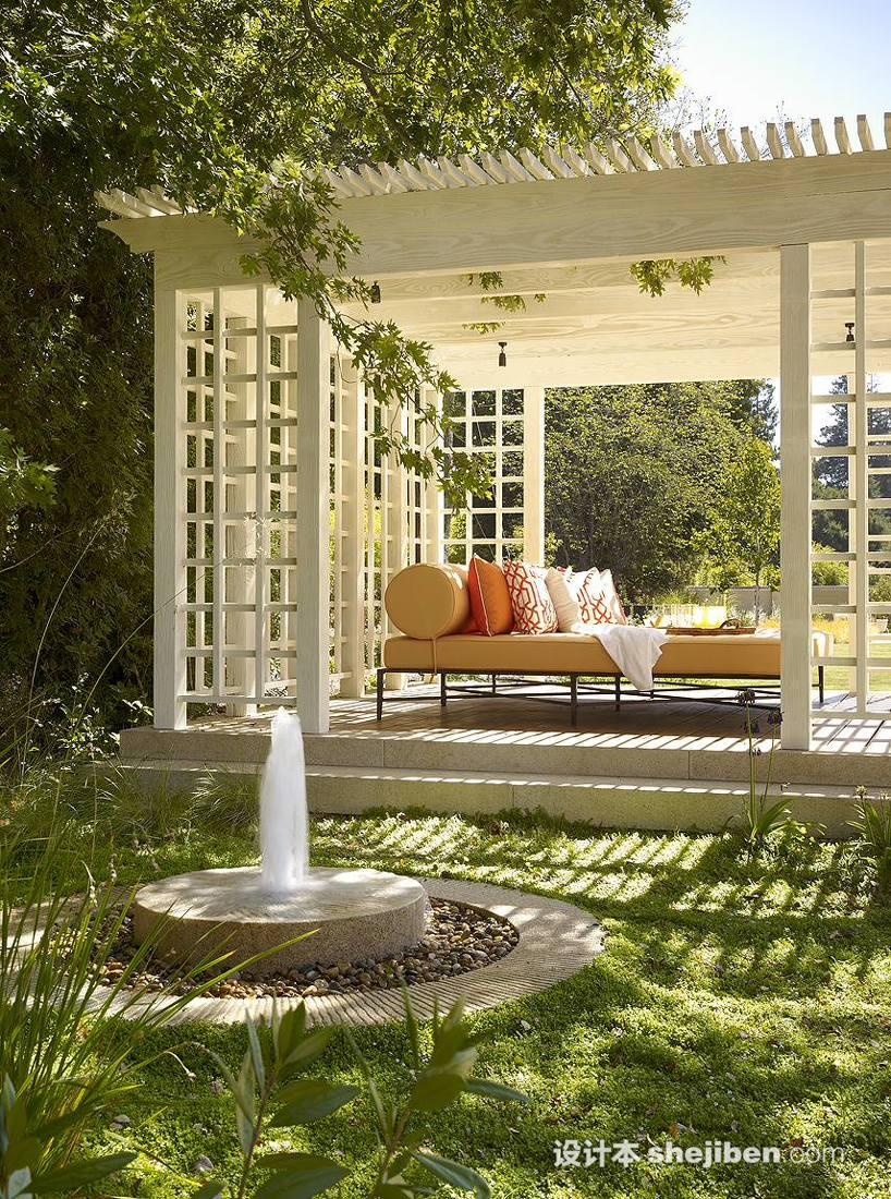 別墅園林綠化設計