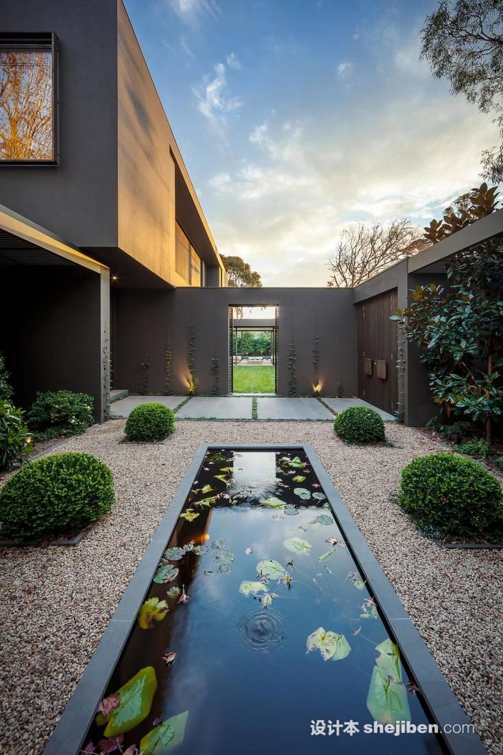別墅庭院景觀設計