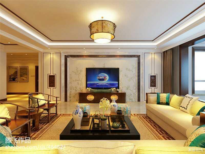 客廳電視背景墻設計