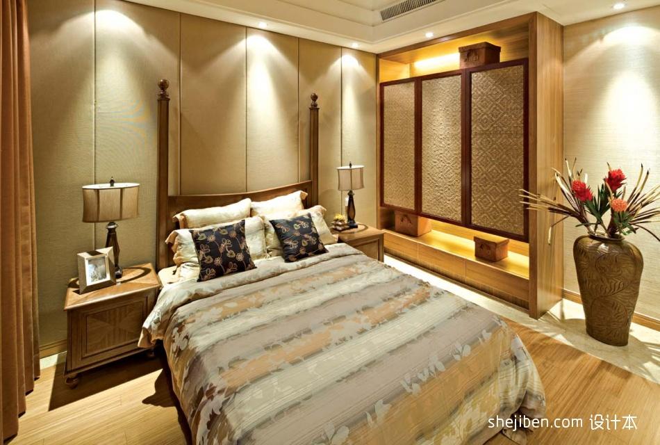 東南亞臥室設計