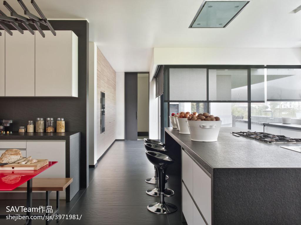 厨房吧台开放式设计