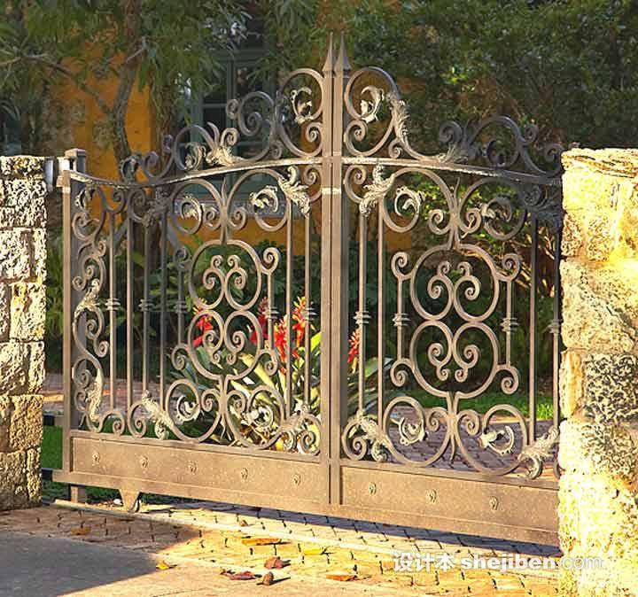 不锈钢大门