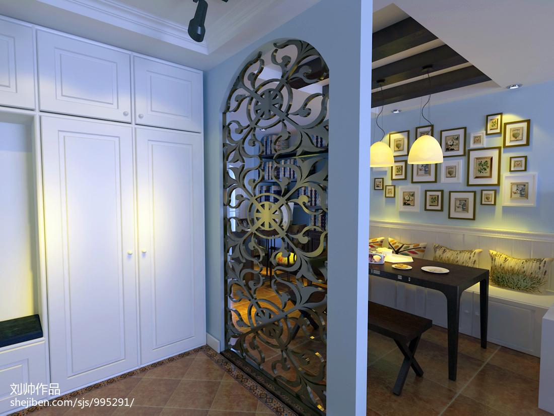 门厅鞋柜设计
