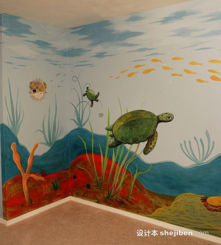幼儿园墙绘设计