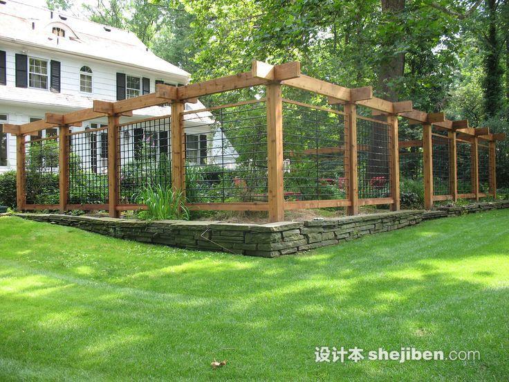 园林景观护栏设计